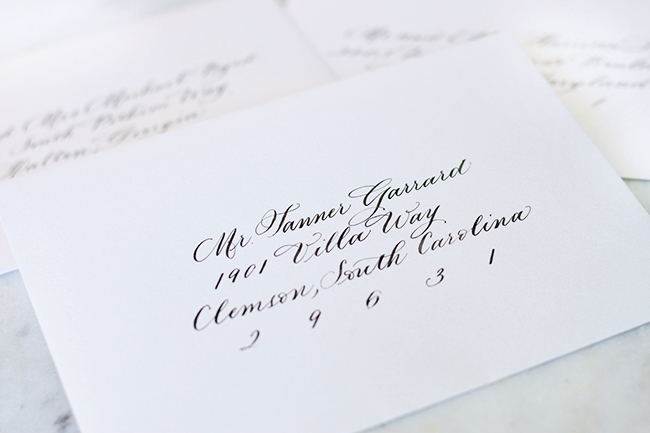 THE PERFECT WEDDING CALLIGRAPHY