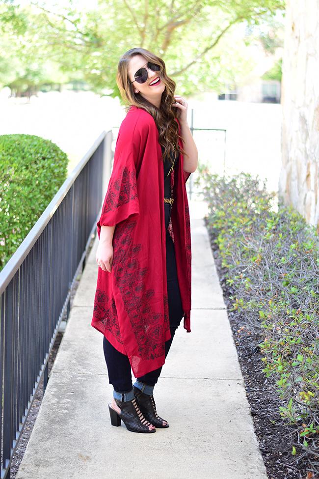 Crimson Kimono