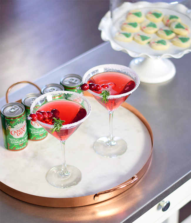 Super Simple Holiday Cocktail Recipe