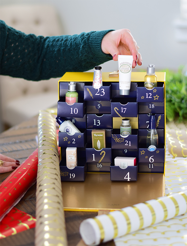 GIVE THE GIFT OF BEAUTY WITH L'OCCITANE ADVENT CALENDARS