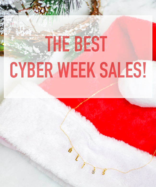 THE BEST CYBER WEEK SALES!