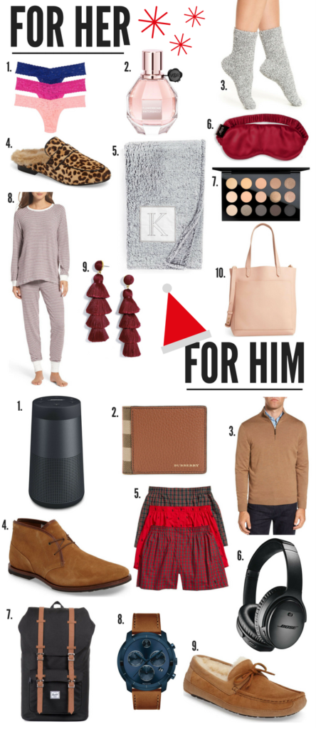 HOLIDAY GIFT GUIDE: LAST-MINUTE FOR HIM & HER